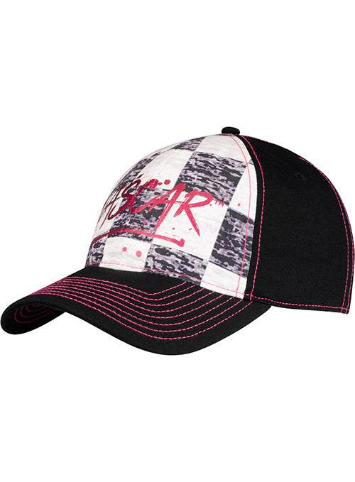 Ladies NASCAR Checkered Hat