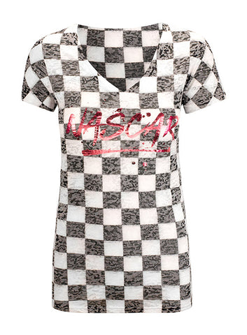 Ladies NASCAR Rhinestone T-Shirt