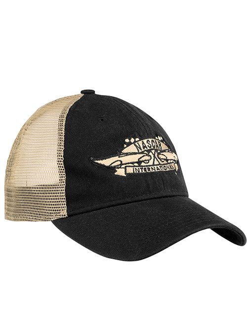 NASCAR New Era Vintage Logo Trucker Adjustable Hat