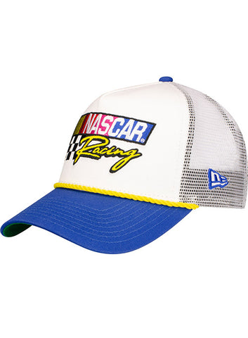 New Era NASCAR Patched Camo Adjustable Trucker Hat