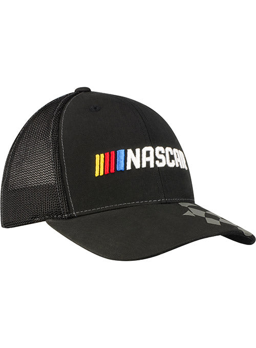 NASCAR Black Checkered Flag Hat