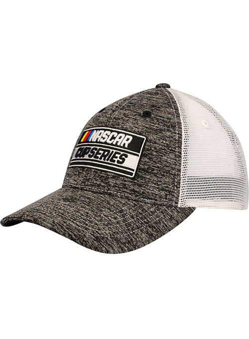 NASCAR Cup Series Heathered Black Meshback Hat