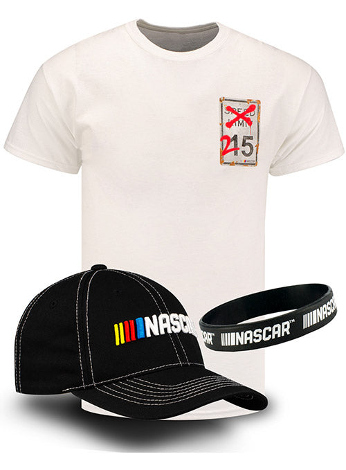 NASCAR Speed Limit Hat & T-Shirt Bundle