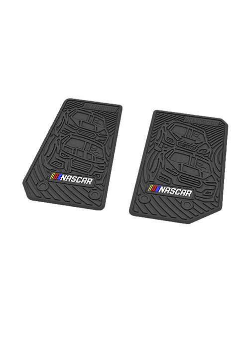 NASCAR Jeep Wrangler 2-Door Floor Mat Set