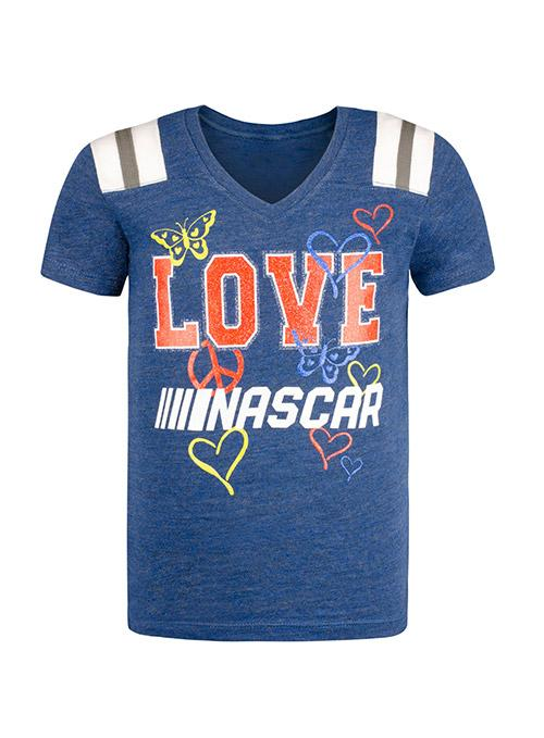 Youth Girls NASCAR Love T-Shirt