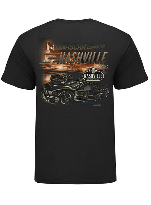 Nashville Superspeedway Ghost Car T-Shirt