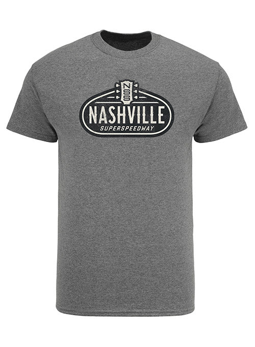 Nashville Superspeedway Triblend Logo T-Shirt