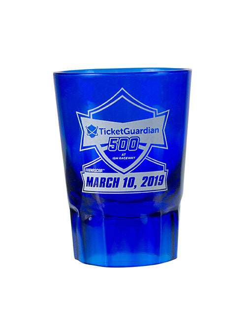 2019 TicketGuardian 400 Plastic Shot Glass
