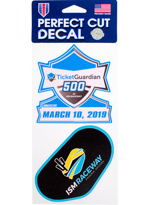 2019 TicketGuardian 500 2-Pack Decal