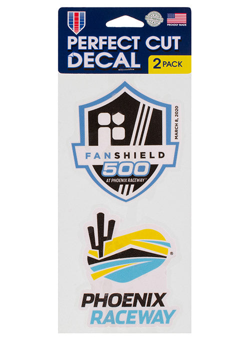 2020 FanShield 500 2-Pack Decal