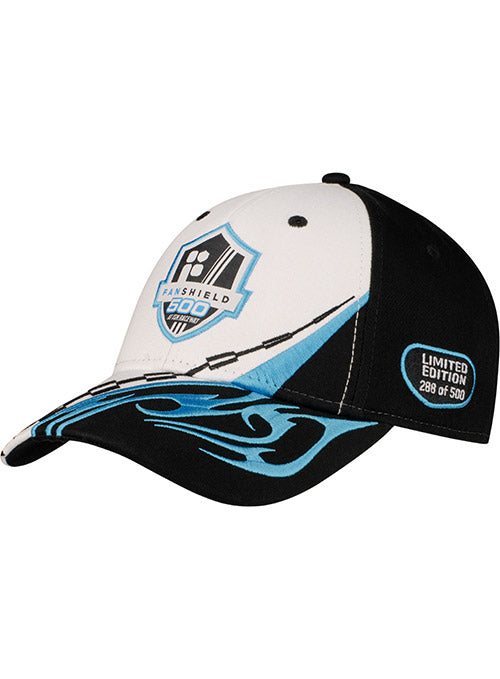 2020 FanShield 500 Checkered Flame Embroidered Hat