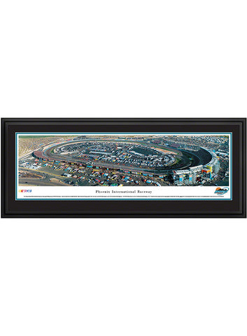 Kansas Speedway Deluxe Frame Panoramic Photo