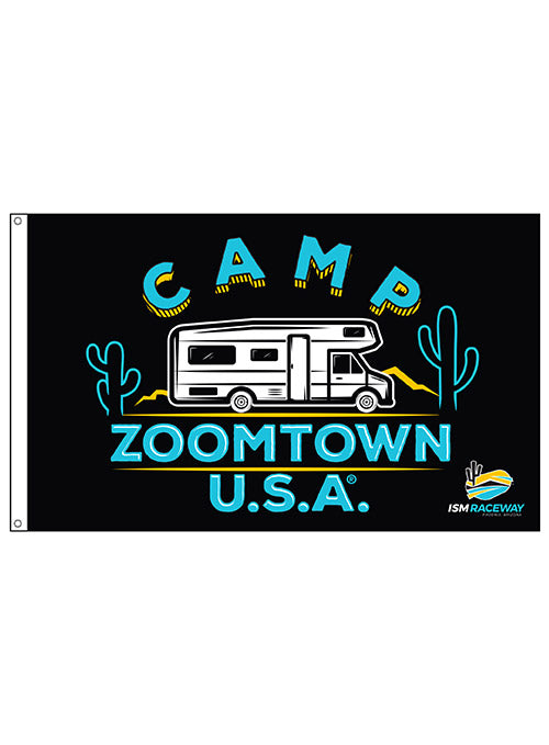 ISM Raceway Camp Zoomtown, U.S.A. 3'x5' Flag