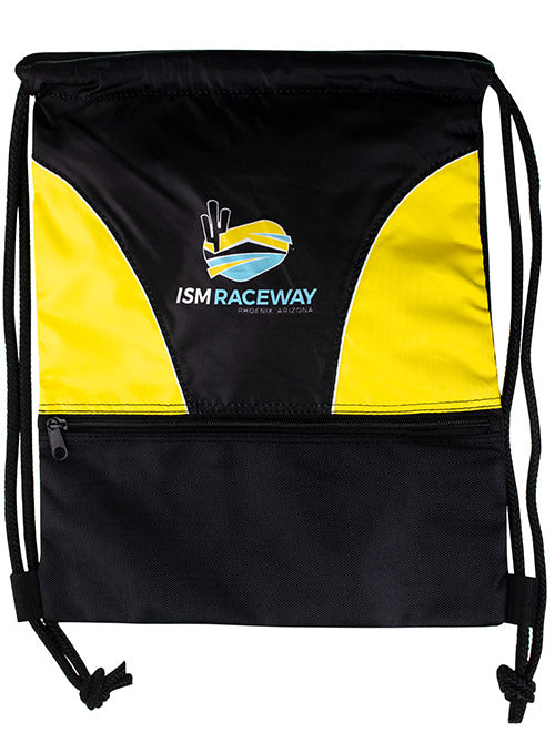 ISM Raceway Yellow Cinch Bag