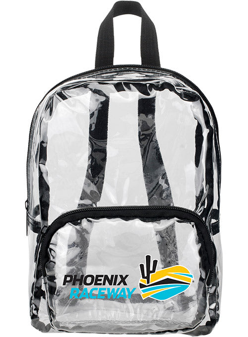 Phoenix Raceway MINI Clear Backpack