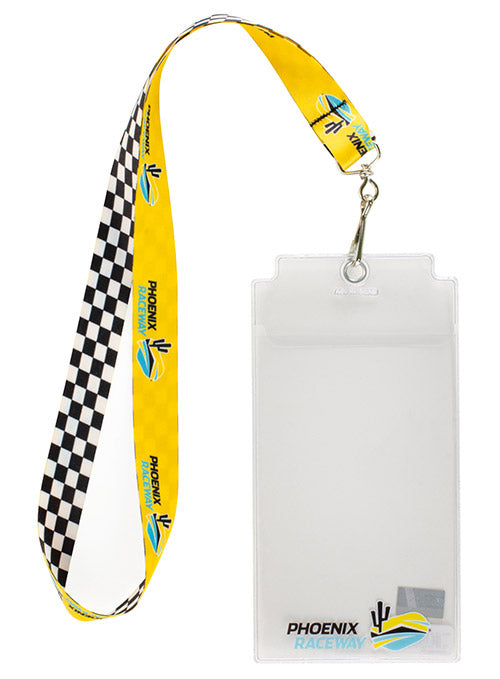 ISM Raceway Checkered Credential Holder