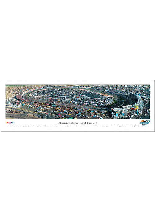 Phoenix Raceway Unframed Panoramic Photo