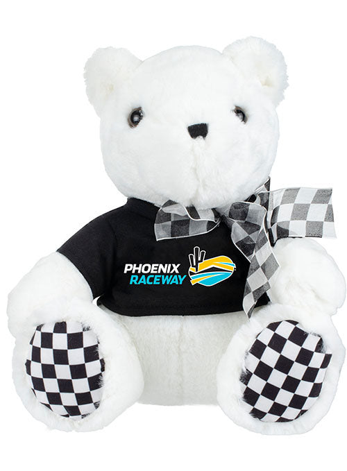 ISM Raceway Checkered Paw Teddy Bear