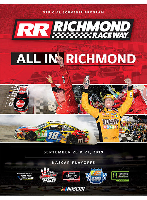 2019 Federated Auto Parts 400 Event Program