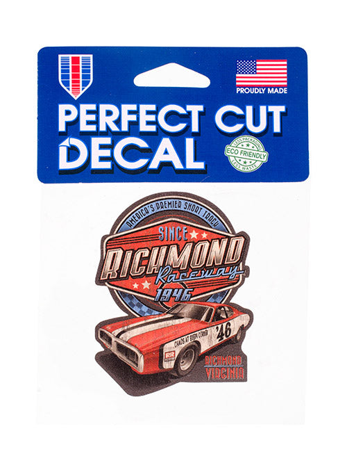 Richmond Raceway Vintage Decal