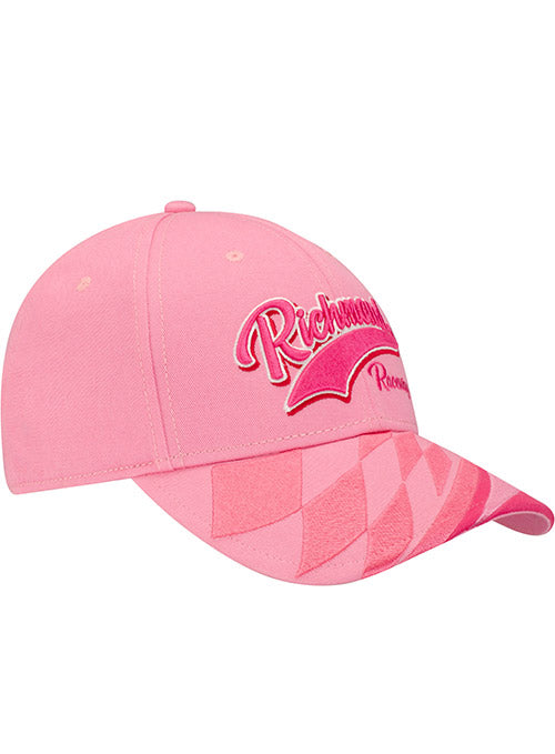 Ladies Richmond Raceway Pink Checkered Hat