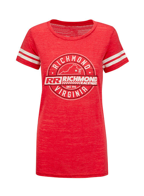 Ladies Richmond Raceway Triblend T-Shirt