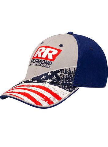 Ladies Richmond Raceway Tie Dye Hat