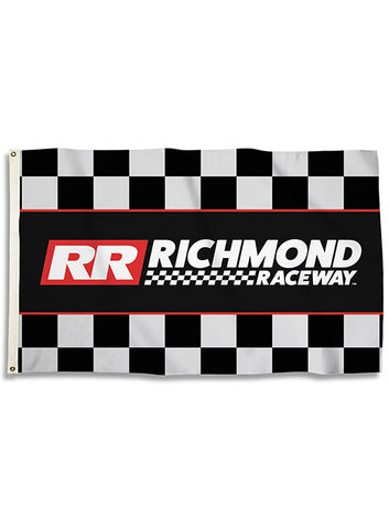 Richmond Raceway Button Magnet