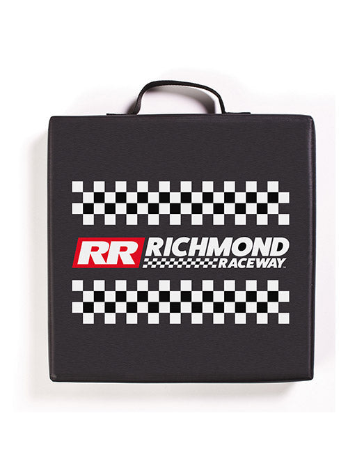 Richmond Raceway Checkered Seat Cushion