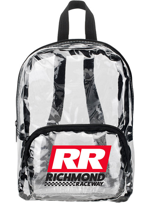 Richmond Raceway MINI Clear Backpack