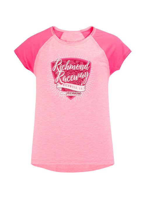 Youth Girls Richmond Raceway T-Shirt
