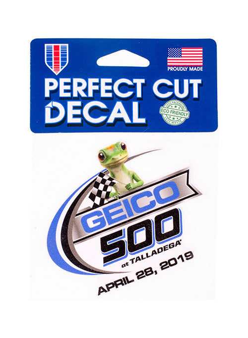 "2019 GEICO 500 4""x4"" Decal"