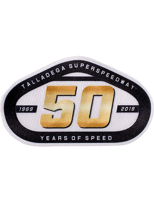 Talladega Superspeedway 50 Years of Speed Emblem