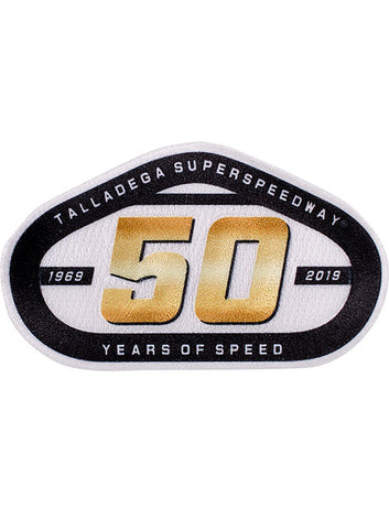 Talladega Superspeedway 50th Anniversary Leather Wrapped Shot Glass