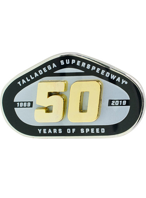 Talladega Superspeedway 50th Anniversary Layered Hatpin