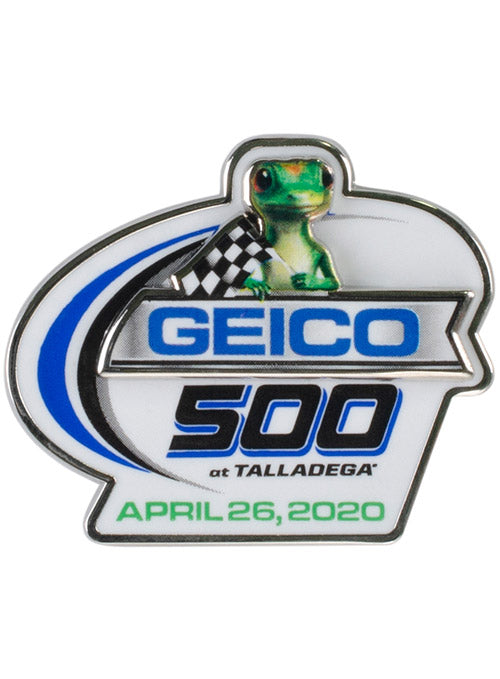 2020 Geico 500 at Talladega Superspeedway Layered Hatpin