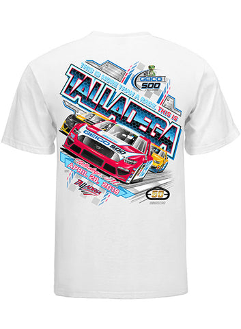 Ladies Talladega Superspeedway V-Neck T-Shirt