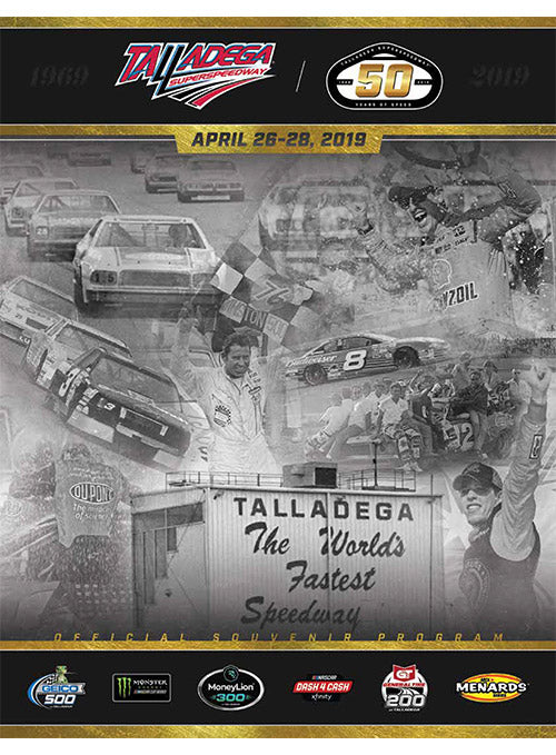 2019 Talladega Superspeedway Event Program