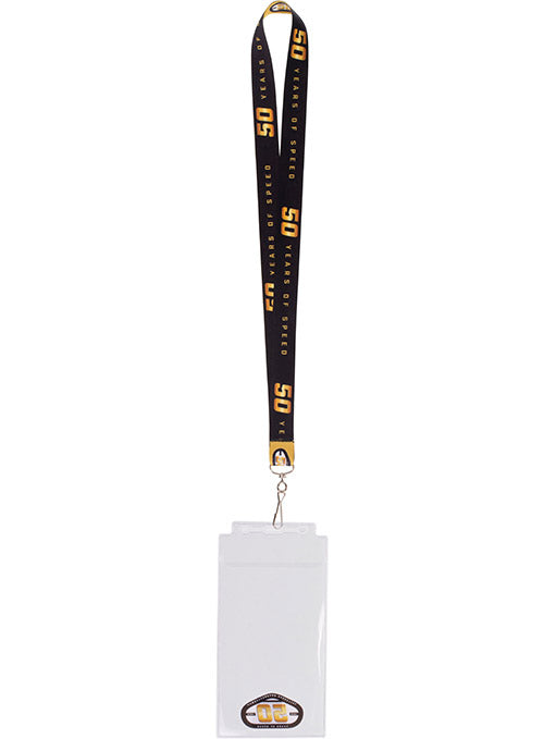 Talladega Superspeedway 50th Anniversary Credential Holder