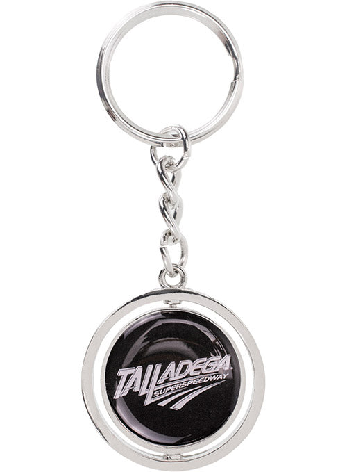 Talladega Superspeedway 50th Anniversary Spinner Keychain
