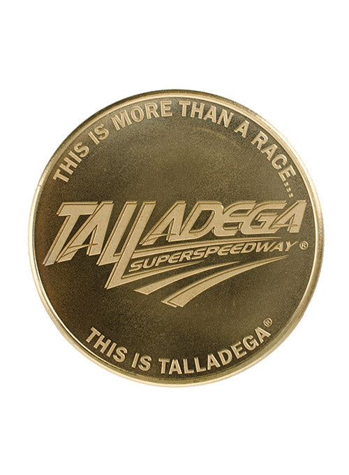 Talladega Superspeedway Collector Coin
