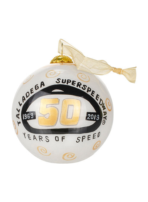 Talladega Superspeedway 50th Anniversary Ornament