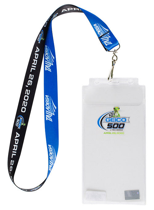 2020 Geico 500 at Talladega Superspeedway Credential Holder