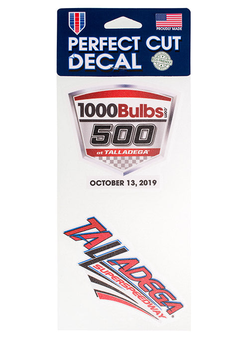 2019 1000Bulbs.com 500 2-Pack Decal