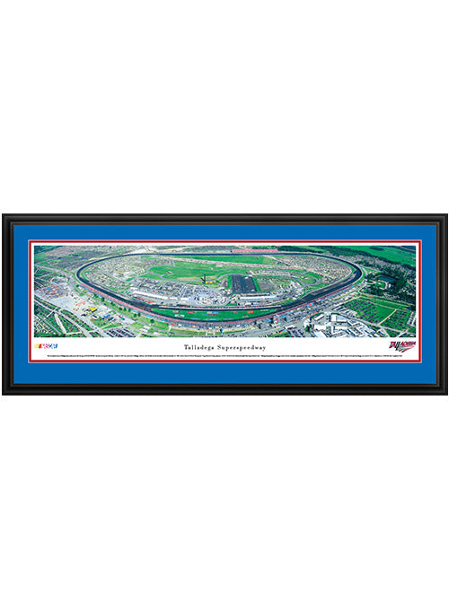 Talladega Superspeedway Deluxe Frame Panoramic Photo