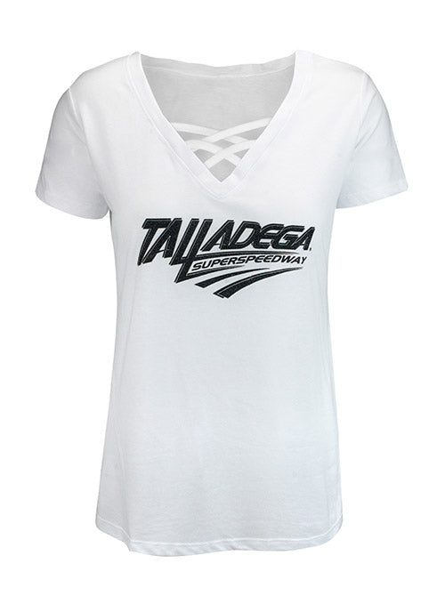 Ladies Talladega Superspeedway Cage Front T-Shirt