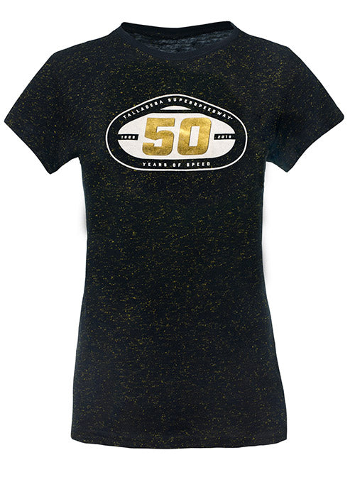 Ladies 2019 Talladega Superspeedway 50th Anniversary T-Shirt