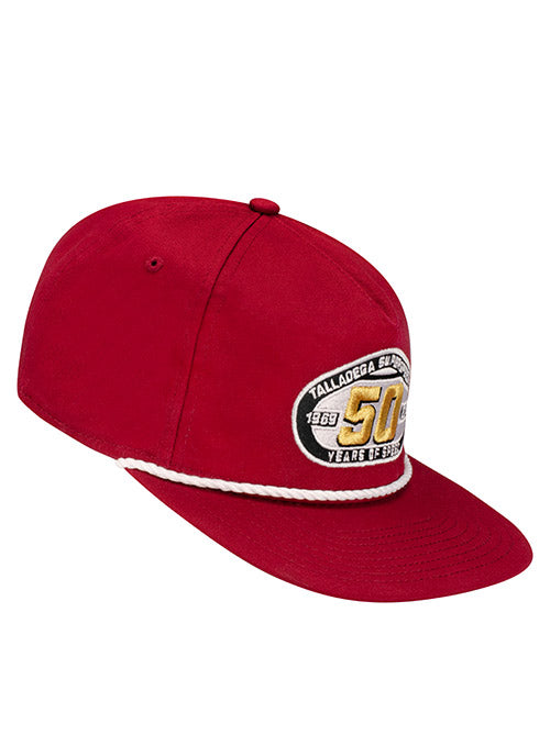 Talladega Superspeedway 50th Anniversary Golf Hat