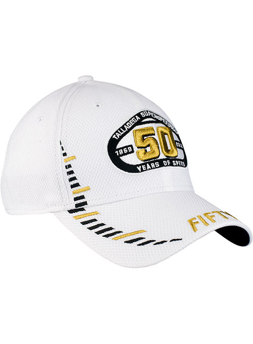 Talladega Superspeedway 50th Anniversary New Era Performance Flex Hat