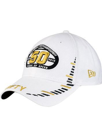 Talladega Superspeedway 50th Anniversary Stripe Trucker Hat